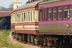 Carrozza ferroviaria per il treno nessun 52 Fotografie Stock Libere da Diritti