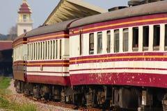 Carrozza ferroviaria per il treno nessun 52 Immagine Stock