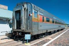 Carrozza ferroviaria storica nel parco nazionale del Grand Canyon Fotografia Stock Libera da Diritti