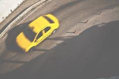 Carrozza gialla Fotografia Stock