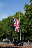Carrozza nera di Londra Fotografia Stock