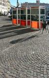 Carrozze del telefono a Torino fotografia stock libera da diritti