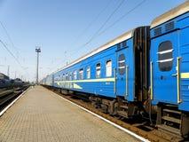 Carrozze ferroviarie Fotografie Stock Libere da Diritti