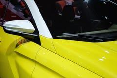 Carrozzeria delle automobili moderne fotografia stock libera da diritti