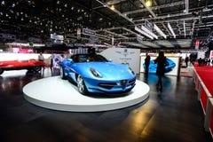 Carrozzeria die Superleggera-Disco Volante Spyder reizen Royalty-vrije Stock Foto's