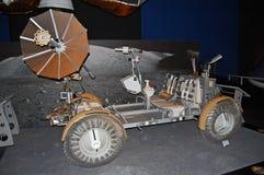 Carrozzino della luna, U S Veicolo nomade lunare dell'Apollo Fotografie Stock