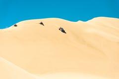 Carrozzino nelle dune Immagine Stock