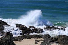 Carrumbin strand Arkivbilder