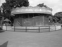 Carrusel abandonado Imagen de archivo libre de regalías