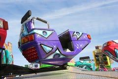Carrusel de la feria de diversión foto de archivo