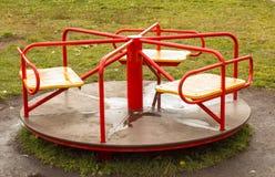 Carrusel de los niños Imagen de archivo libre de regalías