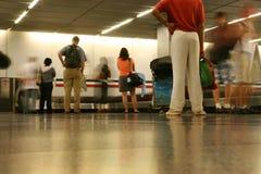 Carrusel del bagaje Foto de archivo libre de regalías