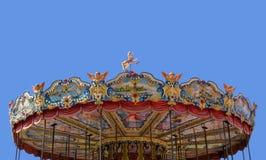 Carrusel del parque de atracciones Fotos de archivo