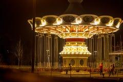 Carrusel en el parque de Sochi Fotografía de archivo libre de regalías