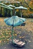 Carrusel oxidado fotografía de archivo