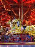 Carrusel para los cabritos Imagen de archivo libre de regalías