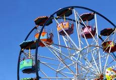 Carrusel y cielo Foto de archivo libre de regalías