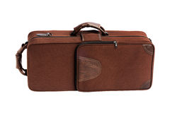 Carry Case For Brass Musical-Instrument Royalty-vrije Stock Afbeelding