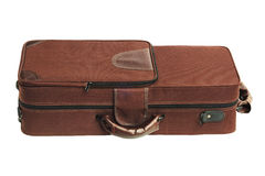 Carry Case For Brass Musical-Instrument Royalty-vrije Stock Foto