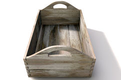 Carry Crate en bois Photos stock