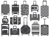 Free Carry On Luggage And Travel Suitcases Royalty Free Stock Image - 144364816