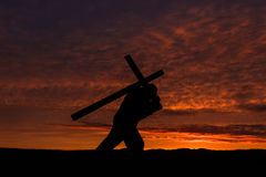 Carry Your Cross Stock Images