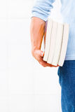 Carrying book Royalty Free Stock Images