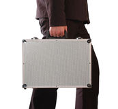 Carrying case. Isolated Royalty Free Stock Image