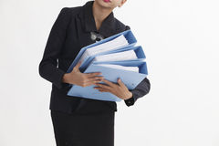 Carrying file Stock Photography