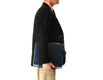 Carrying laptop Stock Photos