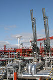 Carrying oil terminal Stock Images