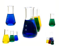 Carrying out of laboratory researches. Tooling and ware at carrying out of laboratory researches Stock Photo