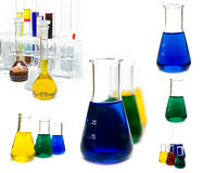 Carrying out of laboratory researches. Tooling and ware at carrying out of laboratory researches Royalty Free Stock Photography