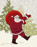 Carrying Presents Stock Image