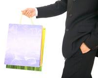 Carrying Shopping Bag Royalty Free Stock Photos
