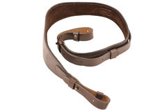 Carrying strap for hunting rifle, isolated Royalty Free Stock Photos