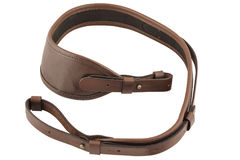 Carrying strap for hunting rifle, isolated.  royalty free stock photos