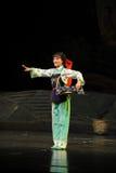 Carrying swaddle woman- Jiangxi opera a steelyard Royalty Free Stock Photo