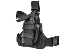 Carrying weapons case: military tactical cartridge belt for pouc Stock Images