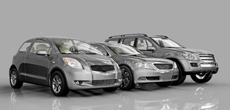 Cars royalty free illustration