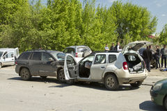 Cars  accident Stock Images