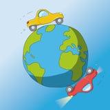 Cars around the world Stock Photos