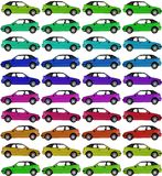 Cars background Royalty Free Stock Images