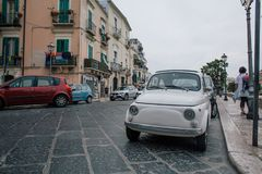 Cars Bari Apulia in Italy stock images