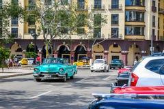 Magic old havana. Cars in beautiful and magic old havana, Cuba Stock Photo