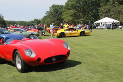 Cars at Belle Macchine d'Italia car event Stock Photo