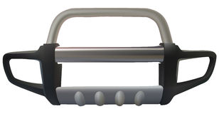 Cars bumper. Accessories front bumper for pickup Stock Image