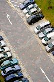 Cars in carpark Royalty Free Stock Photos