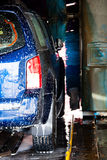 Cars in a carwash Stock Photo