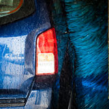 Cars in a carwash Stock Photography